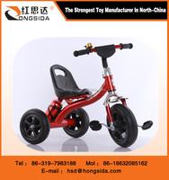 Kids ride on metal pedal tricycle