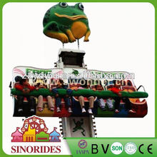 Indoor/outdoor carnival rides kids drop tower frog hopper rides