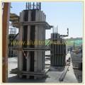 Formas de alumínio coluna de concreto