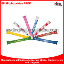 Top Quality Logo Printed Custom Inflatable Cheering Stick