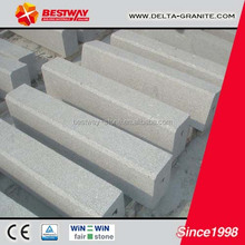 Cheapest grey granite kerbstone,natural standard kerbstone size for sale