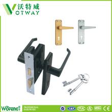 Low price easy to instal steel door mortise lock set