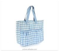 Designer Azure Color Travelling Woman Purses Handbag