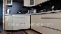 China kitchen cabinet factory with customized design/import kitchen cabinet