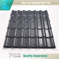 Heat Insulated Asa Synthetic Resin Pvc Plastic Tile Roof Pictures