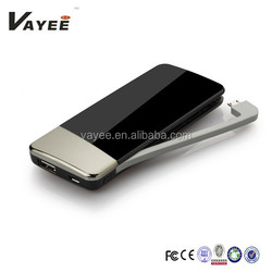 Hot selling Ultra Thin Power Bank 2600mAh Perfume lithium Polymer Battery Pack Cell Phones External Backup Battery Charger