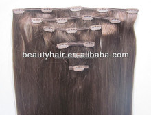 Top Quality 100% Malaysian Human Natural hair Clip In Hair Extensions
