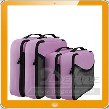 comfortable 4pcs/set Traveling Packing Cubes Clothes Underwear Organizer Storage Bag in Bag