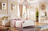 Hot sale white korean bedroom furniture 901