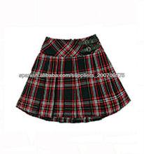 Uniformes Escolares baratos ,falda de la muchacha