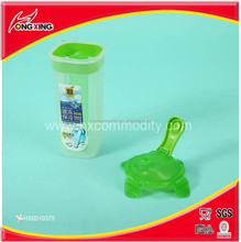 Ice cooler bottle with lockable cold water bottle