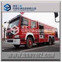 Sinotruck HOWO 10000 6 x 4 água e espuma tanque de combate a incêndio caminhão