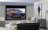 100 inch 3D silver 16:9 Electric /Tab-Tension Projector Screen