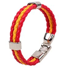 2014 Latest Fashion Charm france PU Leather Bracelet