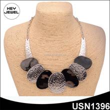 zin alloy antique silver necklace fashion jewlery