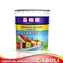 China heat resistant appliance external wall emulsion paint