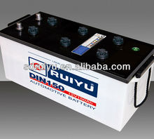 2012 new DIN series-56618/DIN88 dry charged Auto Battery