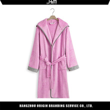 Top quality customized personalized bathrobes for women