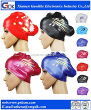 Professional swimming hat manufacture/silicone swimming hats for long hair