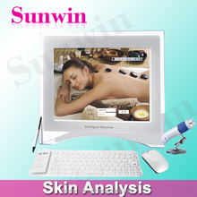 Hottest product portable skin analyzer machine for man and woman SW-39A
