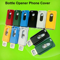 phone case metal Bottle Opener case Mobile phone accessories for iphone 4 4s 5 5s