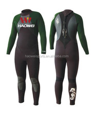 women sex swimming wear wetsuit with long shiny teryy inside keep body warmly