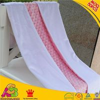 2015 hot sale MOQ 50PCS skin friendly SGS checked cheap wholesale blankets minky