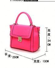 Korean designer luxury brand band shoulder bags