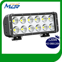 120W Mingzhi High Power LED Light Bar for Trucks Offroad Bus Boat,Fashion Car Accessories Made in China