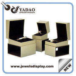 Customized wholesale leather jewelry gift boxes jewelry packaging jewellery boxes
