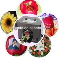 2014 hot sale multifunctional digital nail and fresh flower printer