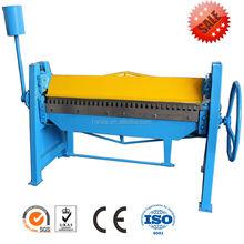 S-2*2500 manual sheet metal bending folding machine
