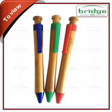 promotional gifts colorful wooden pen sale