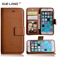 Hot selling leather case for iphone 6 Leather Mobile phone filp cover case for iphone 6