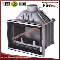 Fireway protect environment wood fuel burning cast iron fireplace