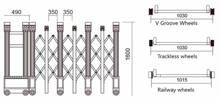 슬라이딩 철 주요 접이식 게이트 디자인-문 -상품 ID:60314957092 ...