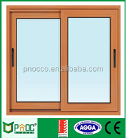 Shanghai Factory with Australian Standard Residential Aluminum Sliding Windows with AS2208 Tempered Glazing PNOC0020SLW