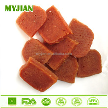 small salmon jerky pet snack dog treat dry pet food factory wholesale