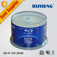RISHENG whoesale printable ritek bd-r 25GB/blank ritek blu-ray 12x bd-r 25g/whole sale ritek blu-ray bd-r 25g