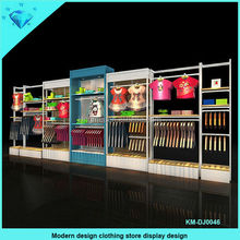 China export Modern design children clothes display stand for cloth shop