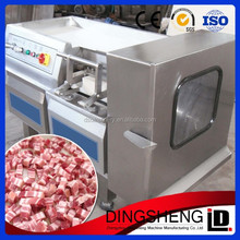 factory supplied automatic fresh chicken meat cube cutter