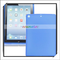 Single Color Silicone Protective Case for iPad Air Dark Blue