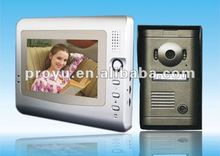7 Inch TFT Color Screen intercom techno phone for villa PY-V7C-P
