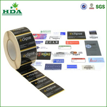 roll colored self-adhesive label for car