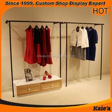 good looking design wedding dress display rack retail