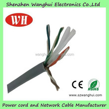 Factory Price Ethernet Cable CAT6, CCA UTP CAT6 Cable LAN