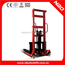 NBO manual pallet stacker, manual stacker price, manual hand stacker forklift for sale