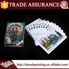 China supply cheap fashion wholesale custom playing cards with Full colors