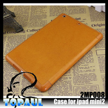7 inch ultra slim flip leather tablet case for ipad 2 covers and cases