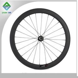 carbon bike parts wheels road bike used 50mm clincher carbon wheel ruote carbonio cinesi Chinese wheel racing bike